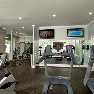 24-hour fully equipped fitness center and cardio theater