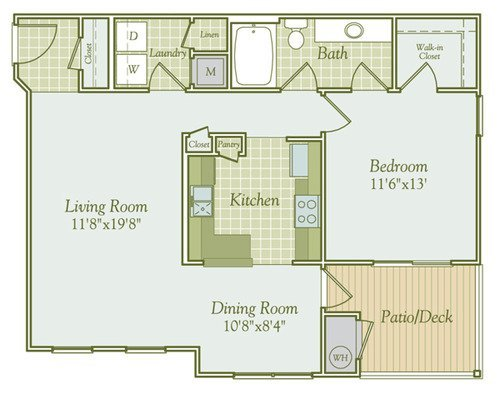 Salsalito floor plan
